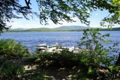 grants-camps-sporting-camp-cabin-hut-dock-rangeley-maine