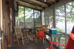 grants-camps-sporting-camp-cabin-hut-porch-rangeley-maine