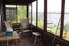 grants-camps-sporting-camp-cabin-kunin-porch-rangeley-maine