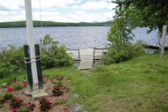 grants-camps-sporting-camp-cabin-kentuck-dock-rangeley-maine